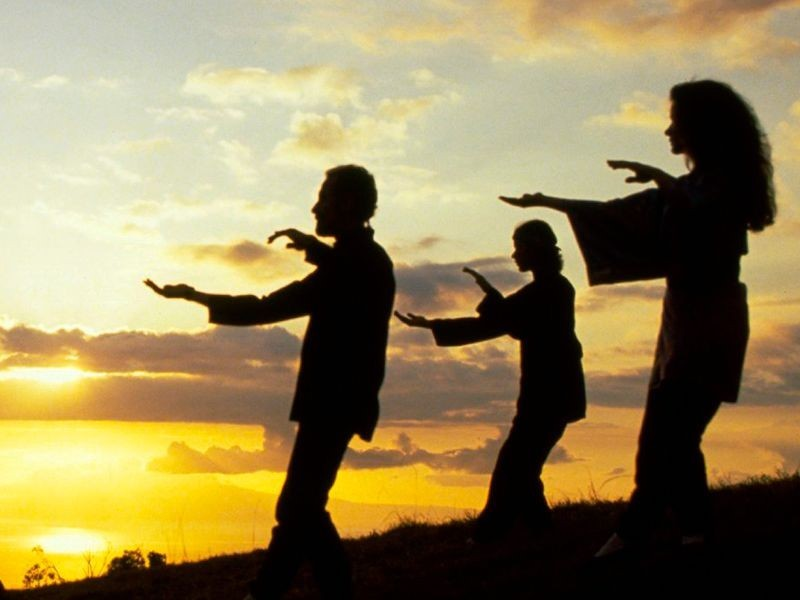 Tai Chi is an ancient Chinese martial arts which has evolved into a graceful form of exercise. It is now used for stress reduction, heath promotion and a variety of other health conditions. Serenity, stability and strength are promoted through a series of gentle, flowing movements.